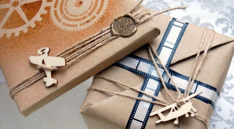Схема упаковки подарка своими руками