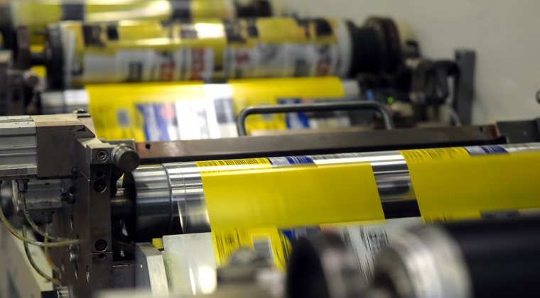 Печать на упаковке флексографическим методом