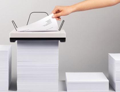 Резка бумаги на формат