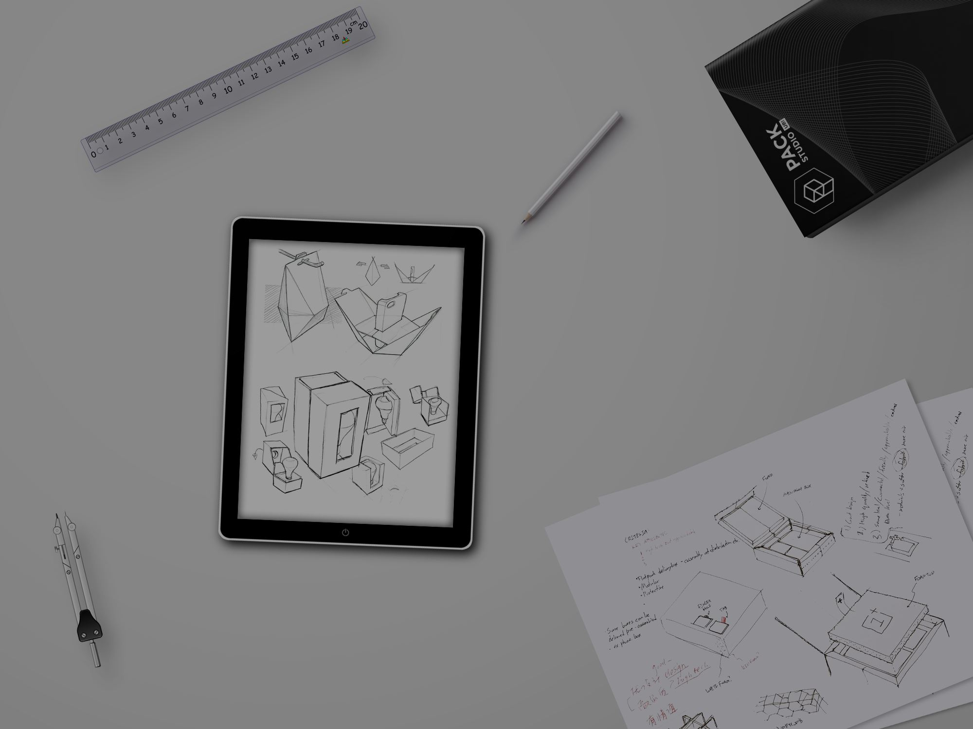 Создание конструкции для вашей упаковки